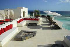 Jacuzzi Lounge at Desire Resort Spa Los Cabos