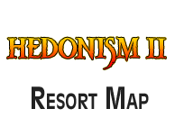 Hedonism II Resort Map