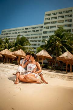 Relax your cares away at the Grand Oasis Viva Resort Cancun