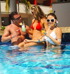 Make new friends at Temptation Resort and Spa